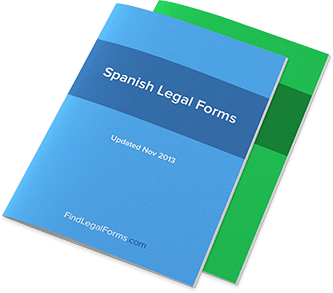 Spanish Legal Forms Drafted By Lawyers Fast Easy To Use And Legal